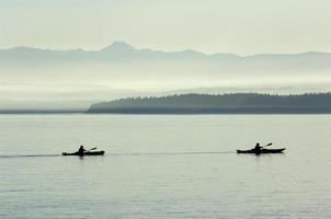 par de kayak foto