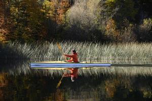 kayak de otoño