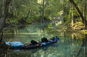 kayak en la primavera foto