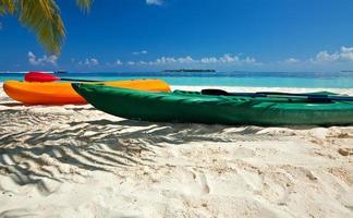 Paddle boats photo