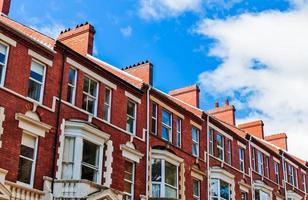 British Front Garden Terraced Houses