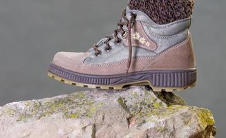 Winter female boots photo