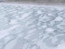 lago de hielo foto