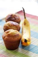 muffin de plátano foto