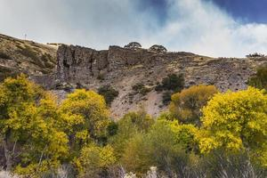 Snow on the Wasatch Mountains along the Alpine Loop (Utah) photo