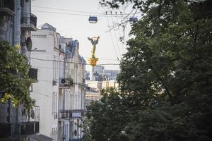 inizio estate mattina a Kiev