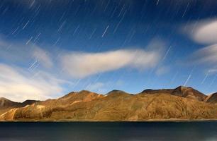 Lake on Himalaya photo