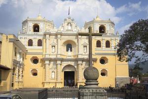 Colonial buildings in Antigua, Guatemala