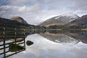 Lake reflections photo