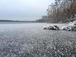 December lake photo