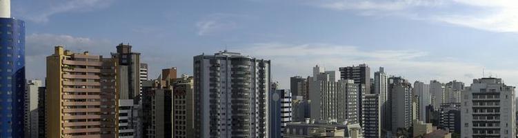 skyline building in Curitiba