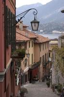 Lake Como village street photo