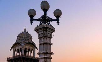 Lights and domes Albet hall jaipur photo