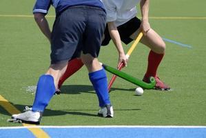 hockey sobre hierba foto