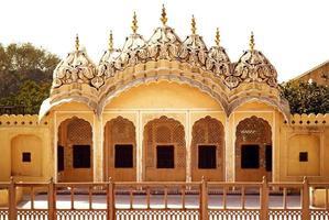 Hawa Mahal interior arch photo