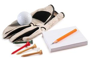 Golf objects. photo