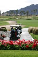 campo de golf en california foto
