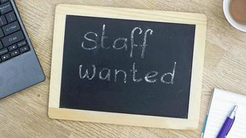 Staff wanted memo