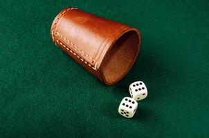 dice cup photo