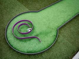 mini golf foto