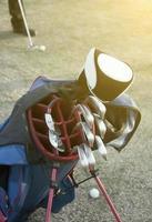 bolsa de golf foto