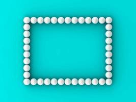 Golf ball rectangle pattern background photo