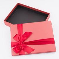 gift box with nice ribbon photo