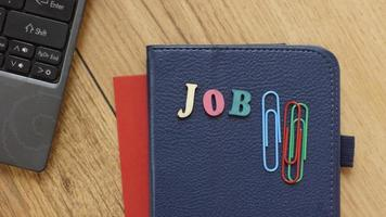 Job written
