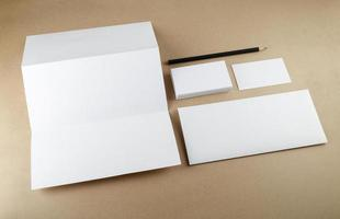 Corporate identity template photo