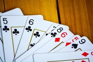 Cartas na mesa photo