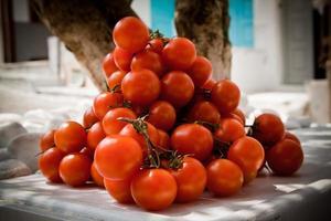 tomates cherry foto