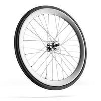 rueda de bicicleta foto