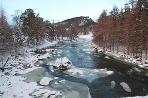 mountain stream in scotland photo