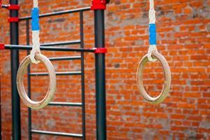 equipamiento deportivo al aire libre foto