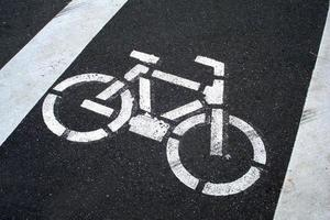 Cycle track photo