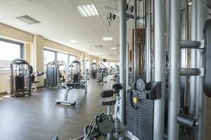 interior moderno gimnasio
