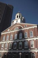 estados unidos - massachusetts - boston, faneuil hall foto