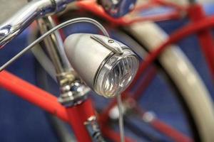 bicicleta vintage detallada