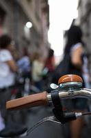 campana de bicicleta foto