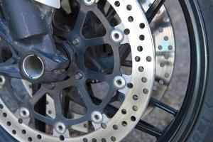 rotura de disco de moto