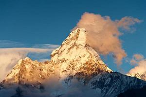 Sunset over Ama Dablam