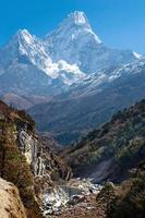 Ama Dablam massif , Nepal Himalayas photo