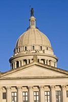 ciudad de oklahoma - capitolio estatal foto