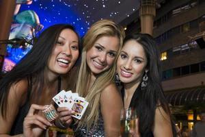 Three women in Vegas