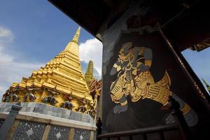 Painting at Wat Phra Kaew photo