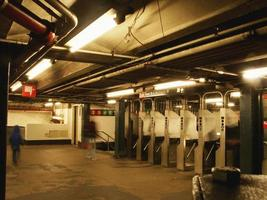 estación de metro foto