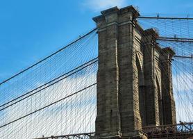 puente de Brooklyn foto