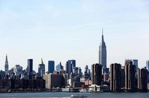 vista de nueva york foto