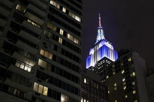 Empire State building at Manhattan photo