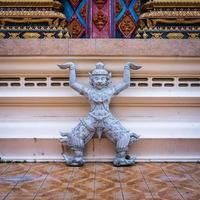 Statue of Rakshasa in buddhist temple